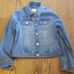 Childrens Place girls jean jacket size 7/8